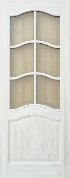Дверь ДО 7 Сосна неокрашенная