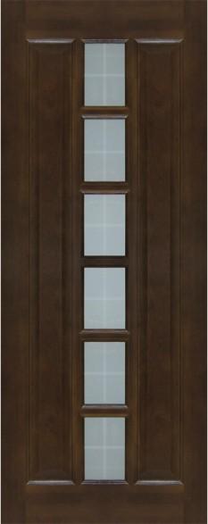 Дверь ДО 11 Тёмный лак