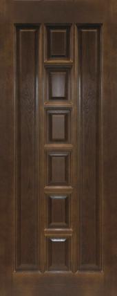 Дверь ДГ 11 Тёмный лак