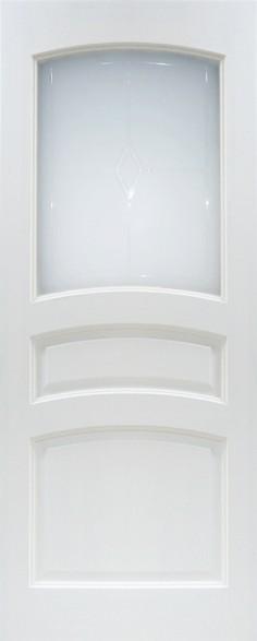 Дверь ДО 16 Белый лоск