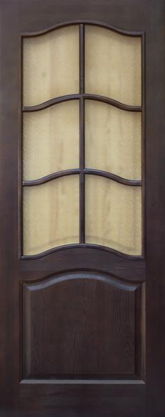 Дверь ДО 7 Тёмный лак