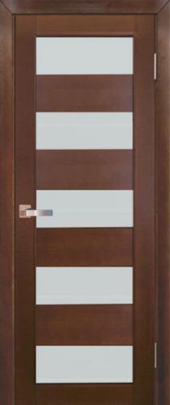 Дверь Модель №2 ДО Ореховый, мателюкс