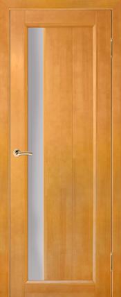Дверь Вега 6 ЧО, светлый орех