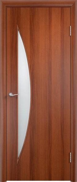 Дверь Verda ПО С6 Итальянский орех