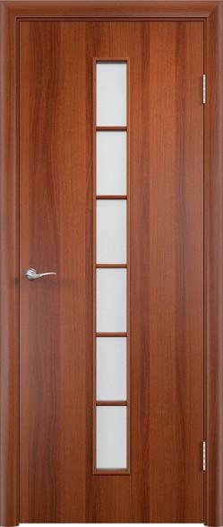 Дверь Verda ПО С12 Итальянский орех