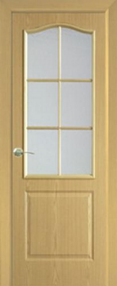 Дверь Классика ДО Светлый Дуб