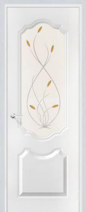 Дверь Орхидея ДО Белоснежный