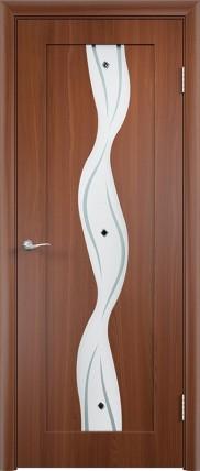 Дверь Вираж ДО Итальянский орех