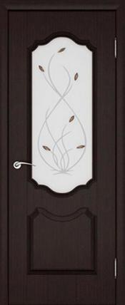 Дверь Орхидея ДО Венге