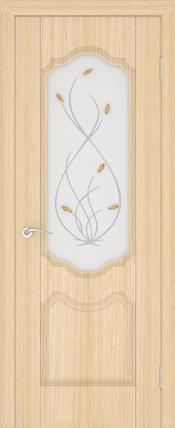 Дверь Орхидея ДО Беленый дуб