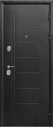 Дверь входная Троя серебро Царга
