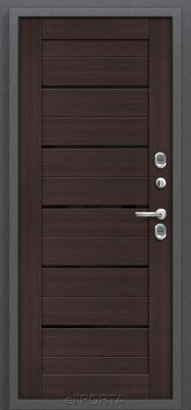 Дверь с терморазрывом Термо 222 Wenge Veralinga
