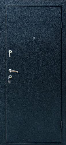 Входная дверь Linea black wood